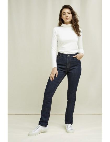 Jeans PEOPLE TREE Femme Heather Marine