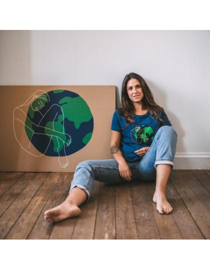 T-Shirt Femme Deborah Planète