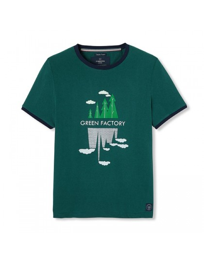 T-Shirt Homme Made in France Green Factory