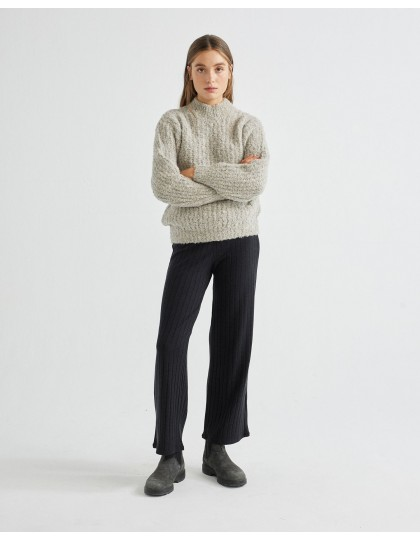 Pull THINKING MU Femme Cotys Gris