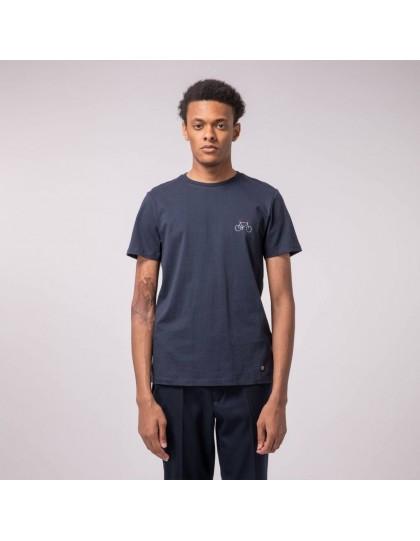T-Shirt FAGUO Homme Arcy Bleu Marine