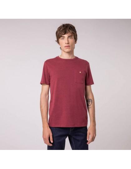 T-Shirt FAGUO Homme Olonne Bordeaux