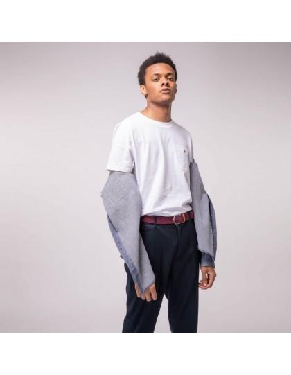 T-Shirt FAGUO Homme Olonne Blanc