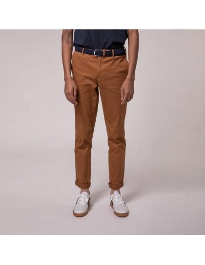 Pantalon FAGUO Homme Brix Marron