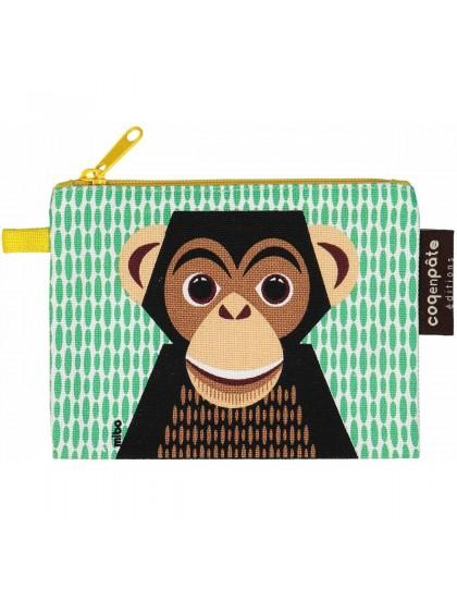 Porte-Monnaie Enfant Chimpanzé