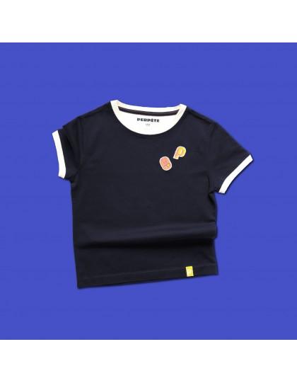 T-shirt Enfant Mixte Perpète Marine