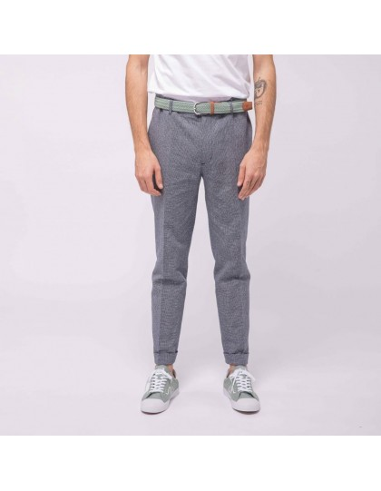 Pantalon faguo Homme Crecy Coton et Lin