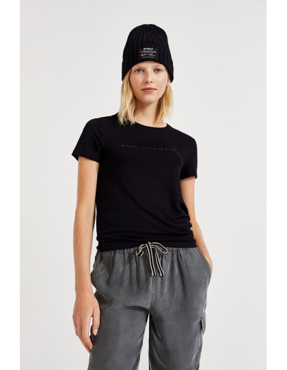 T-shirt Femme eco-responsable Going Noir
