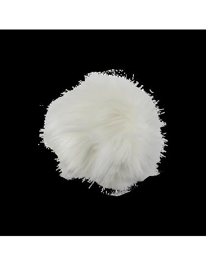 Pompon CABAIA Blanc Fur