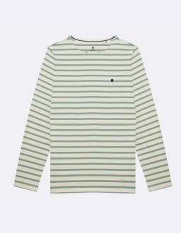 T-Shirt Aubrac Ecru Faguo