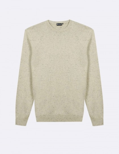 Pull Faguo Marly Coton Beige