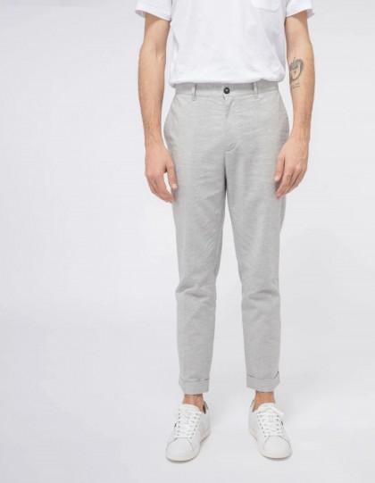Pantalon  Faguo Crecy Coton Gris