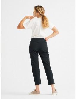 Pantalon coton bio éthique et éco-responsable Femme Daphne Noir