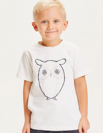 T-shirt enfant Knowledge Cotton Apparel Bio