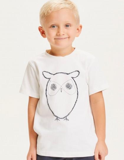 T-shirt enfant Knowledge Cotton Apparel Bio