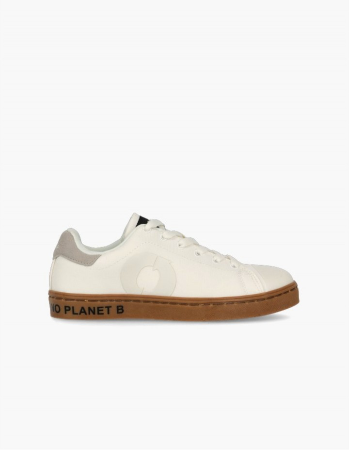 Baskets éco-responsbales Enfant Sandford Blanc Ecoalf