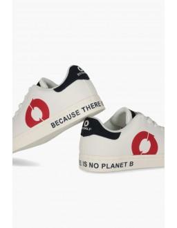 Baskets recyclé Sandford Rouge EcoAlf