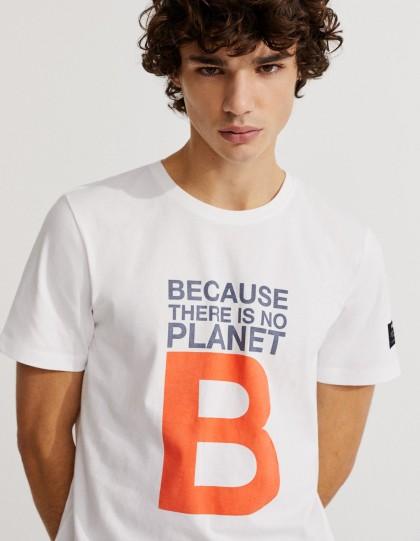 T-shirt Natal Blanc EcoAlf