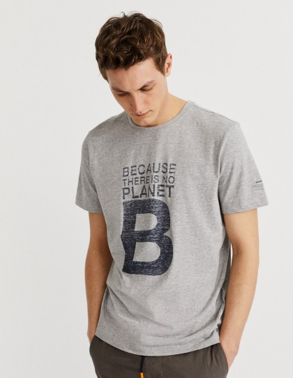 T-shirt recyclé Natal Great Gris EcoAlf