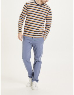 Pantalon Chino BIO Chuck Bleu Indigo