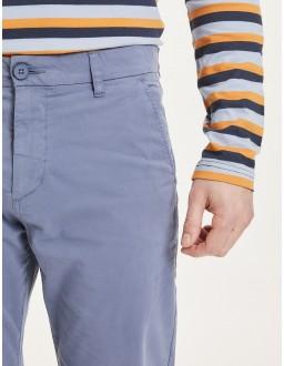 Pantalon BIO Knowledge cotton apparel Chuck Bleu Indigo