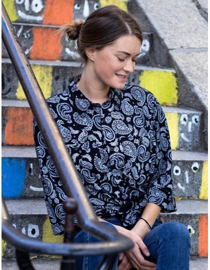 chemise palasana khuna noire