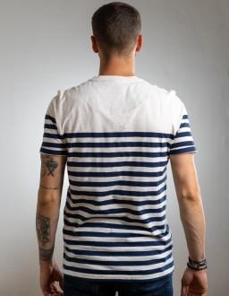 tshirt homme marinière maison ft