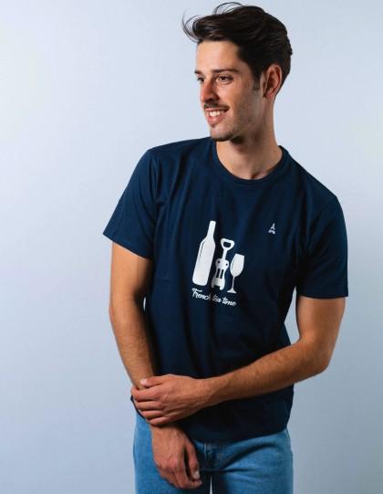 T-shirt Bio Apéro Bleu