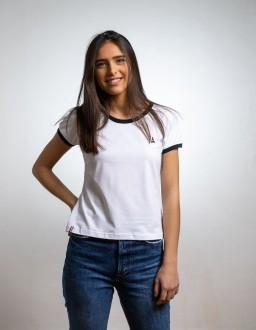 t shirt coton bio blanc maison ft