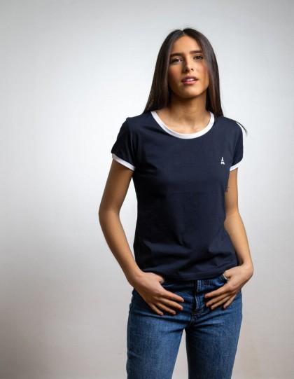 tshirt bio maison ft pour femme