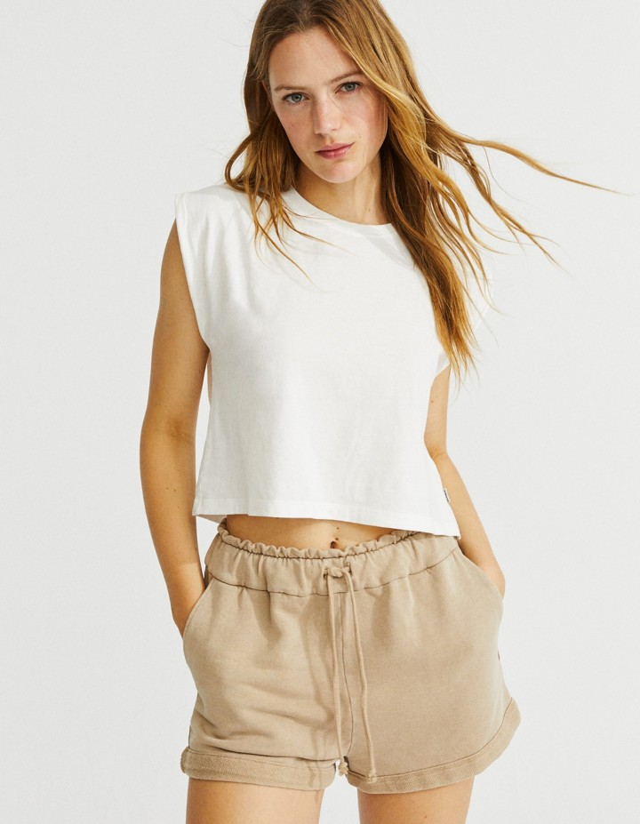 Tshirt ecoalf Wind Blanc