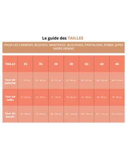 guide des tailles reher