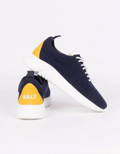 Sneakers unisexe Knit Restart Bleu Marine