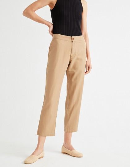 Pantalon Daphne Camel