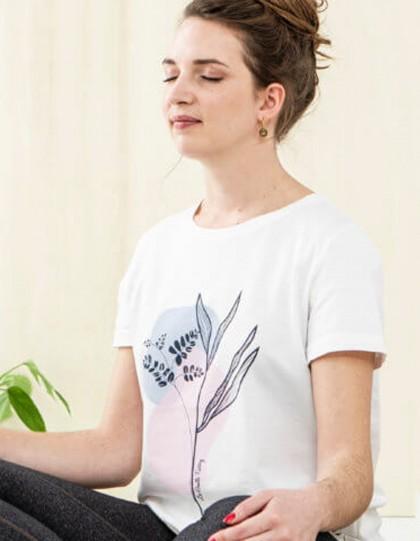T-Shirt Bio Palmyre Plantes