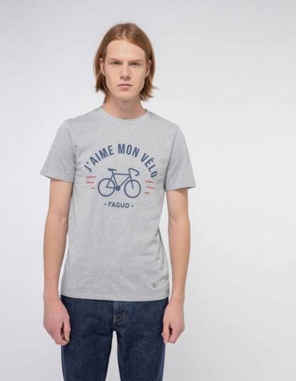tshirt faguo j'aime mon vélo
