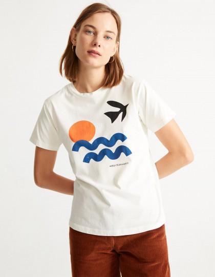 T-Shirt Bio Med Blanc