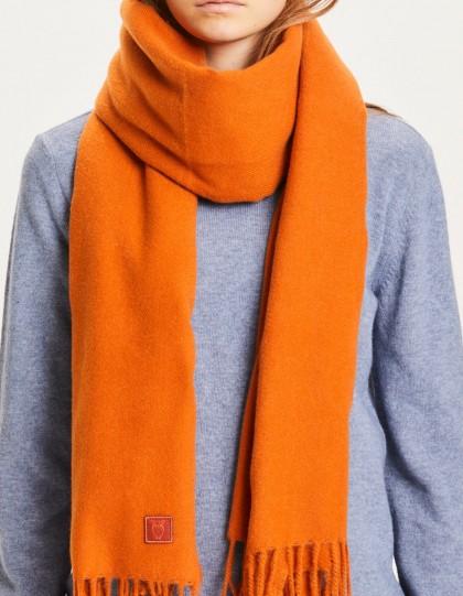 Echarpe Recyclée Madeline Orange