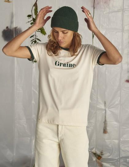 T-Shirt Bio Pic Blanc