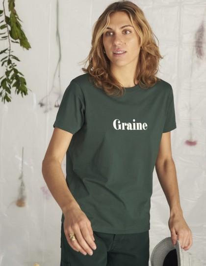 T-Shirt Bio Pic Vert foncé