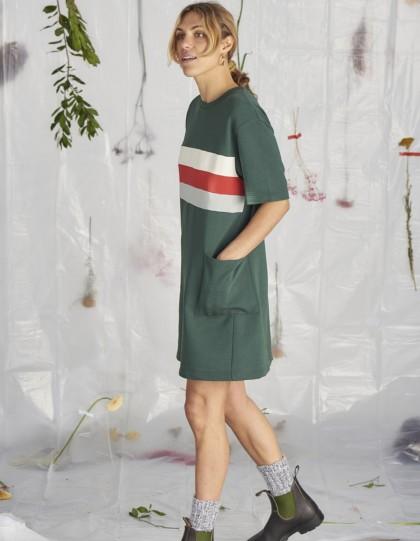 Robe Bio Chalet Vert foncé