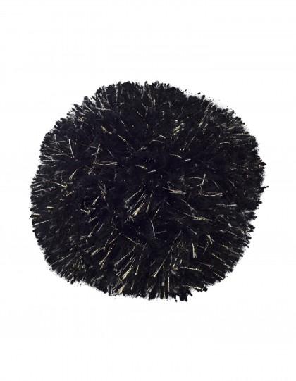 Pompon Noir et Or