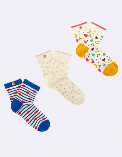 Chaussettes Cabaia Pack