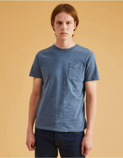 T shirt faguo olonne bleu