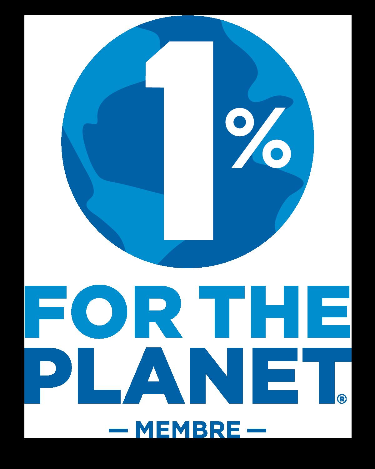 Kozze, fier membre du 1% pour la Planète.