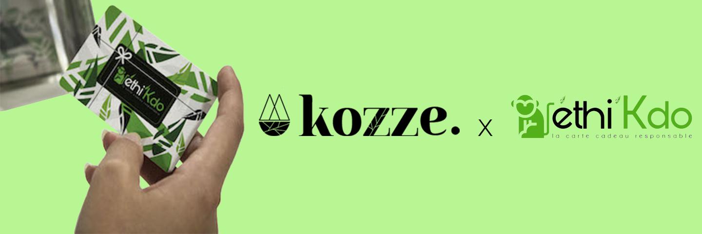 Kozze, partenaire Ethikdo
