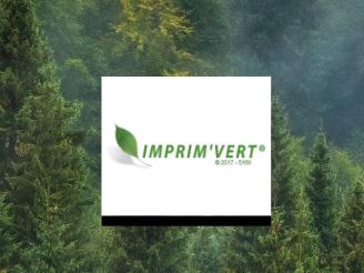 Label imprim vert Mode ethique