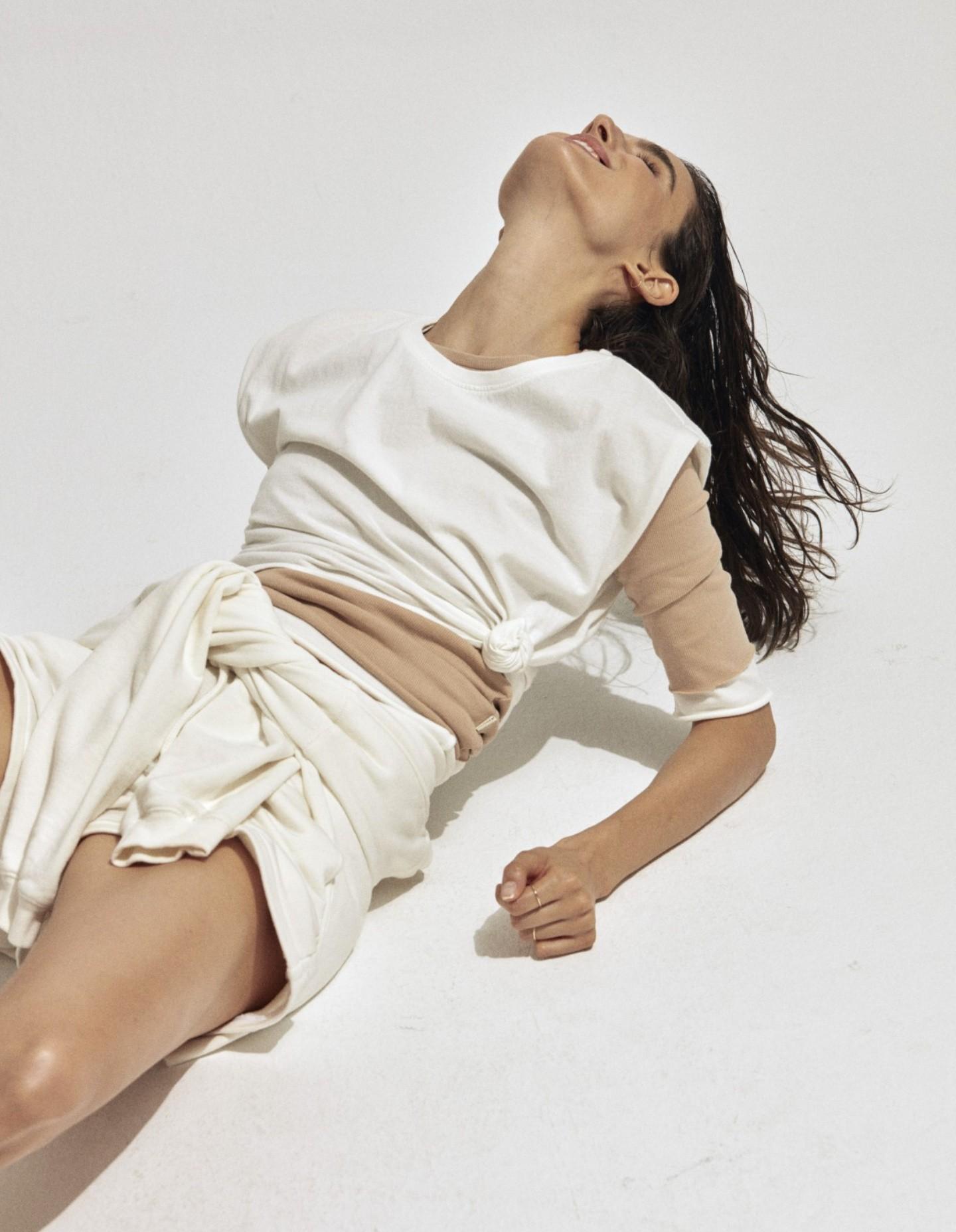 T-shirt EcoAlf Femme Blanc