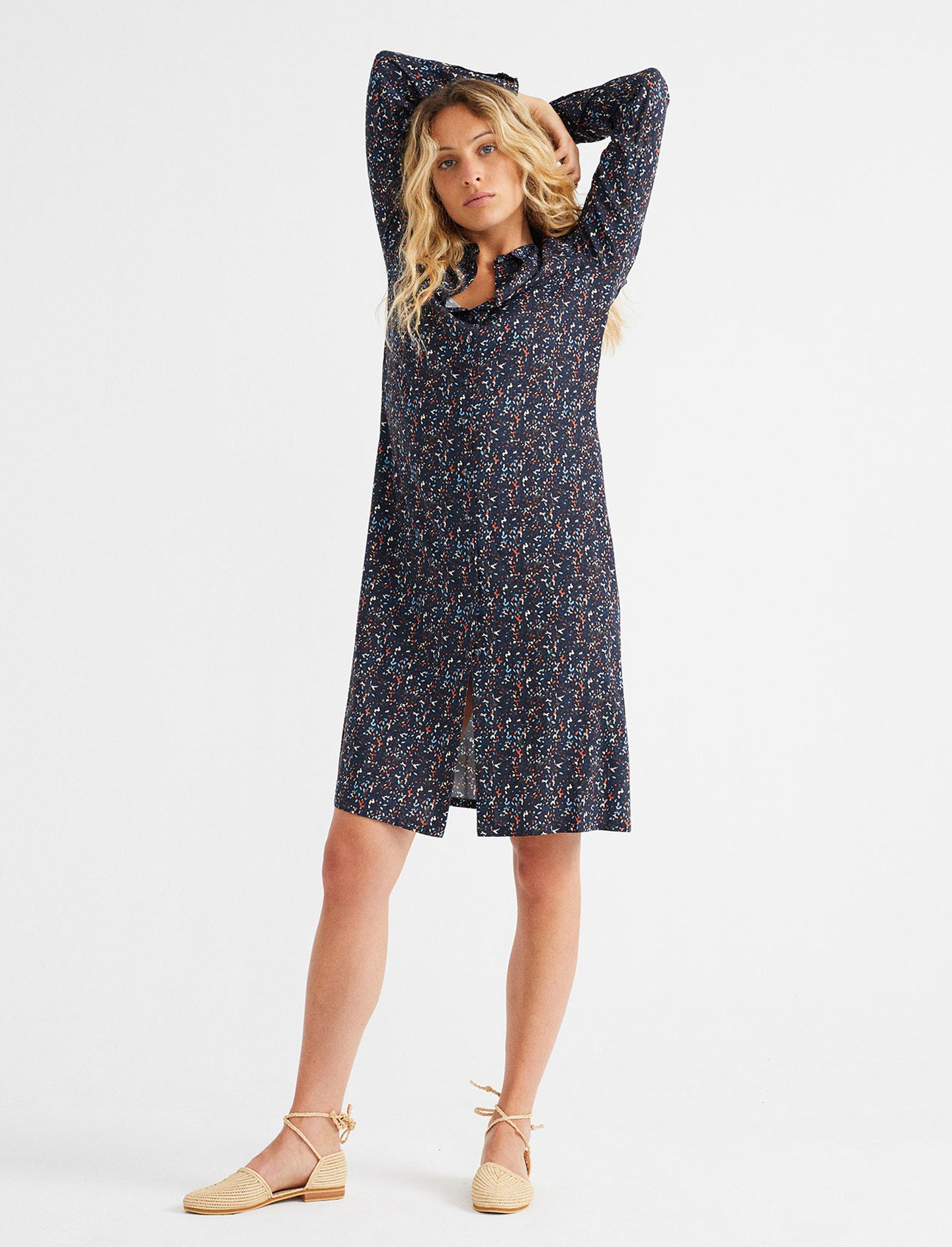Robe Ethique Multiflowers Thinking Mu