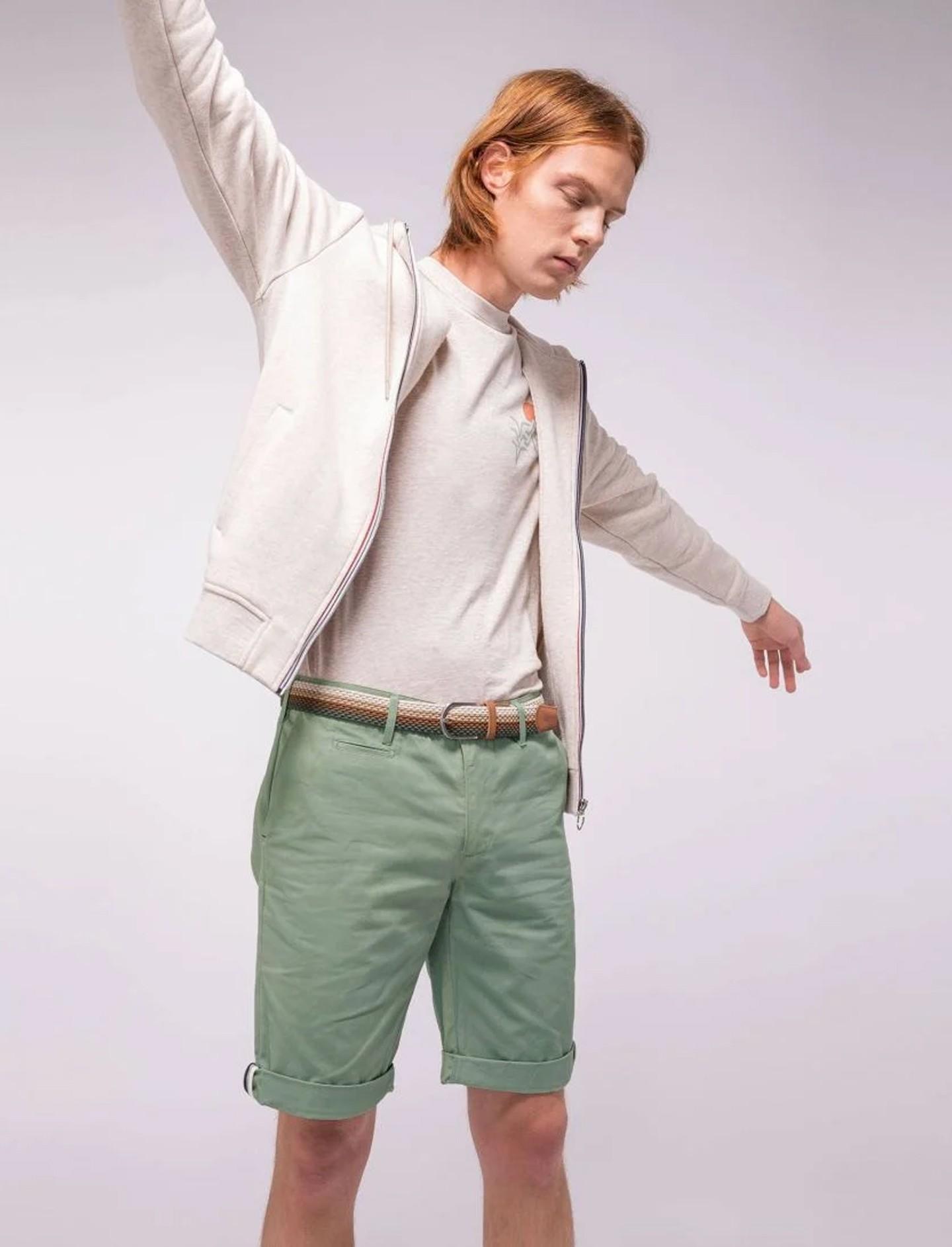 Short Homme saulieu Vert Faguo